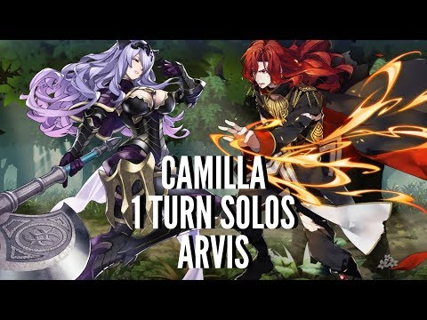 Fire Emblem: Heroes - Camilla 1 Turn Solos Arvis