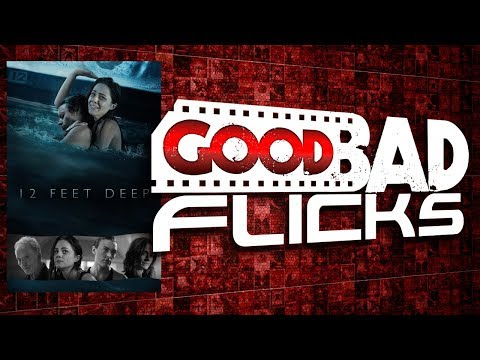 12 feet deep 2017 thriller movie review the horror show by the