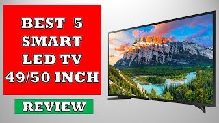 Top 5 Best 49 50 inch Smart LED TV - Review
