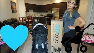 SUMMER INFANT 3D TOTE STROLLER REVIEW