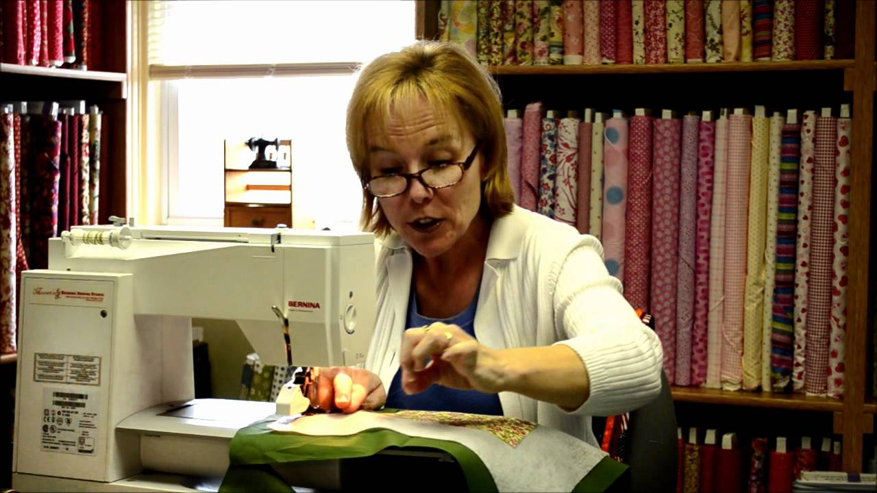 Quilting Tutorial Quilt As You Go Placemats Youtube