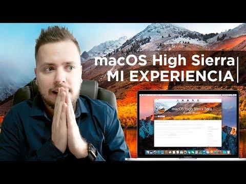 macOS High Sierra, mi experiencia de uso