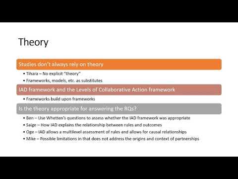Fall 2019 PADM801 - Empirical Article Review 1 DEBRIEF