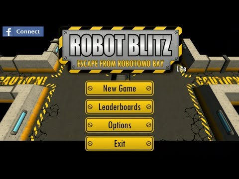 Robot Blitz Android GamePlay Trailer (HD) [Game For Kids]