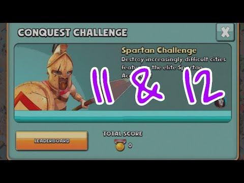 Gods Of Olympus Round 11 And 12 | Spartan Challenge