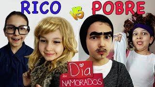RICO VS POBRE DIA DOS NAMORADOS | Luluca