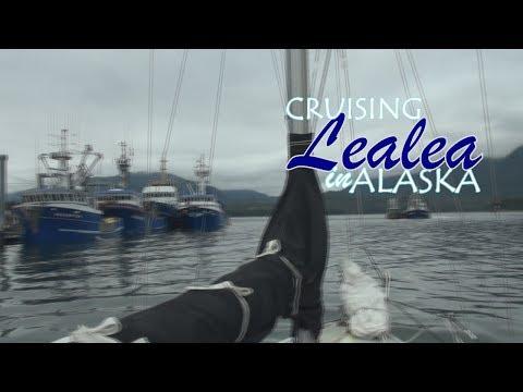 Cruising Lealea in Alaska-Wrangell Narrows
