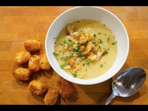 Best Potato & Leek Soup | SAM THE COOKING GUY