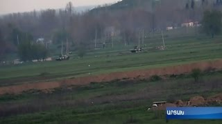 Հայկական կողմը բացառիկ կադրեր է հրապարակել ապրիլի 4-ի մարտական գործողություններից