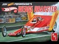 The Snake?s Wedge Dragster 1:25 Scale AMT #A1049  -Model Kit Build & Review