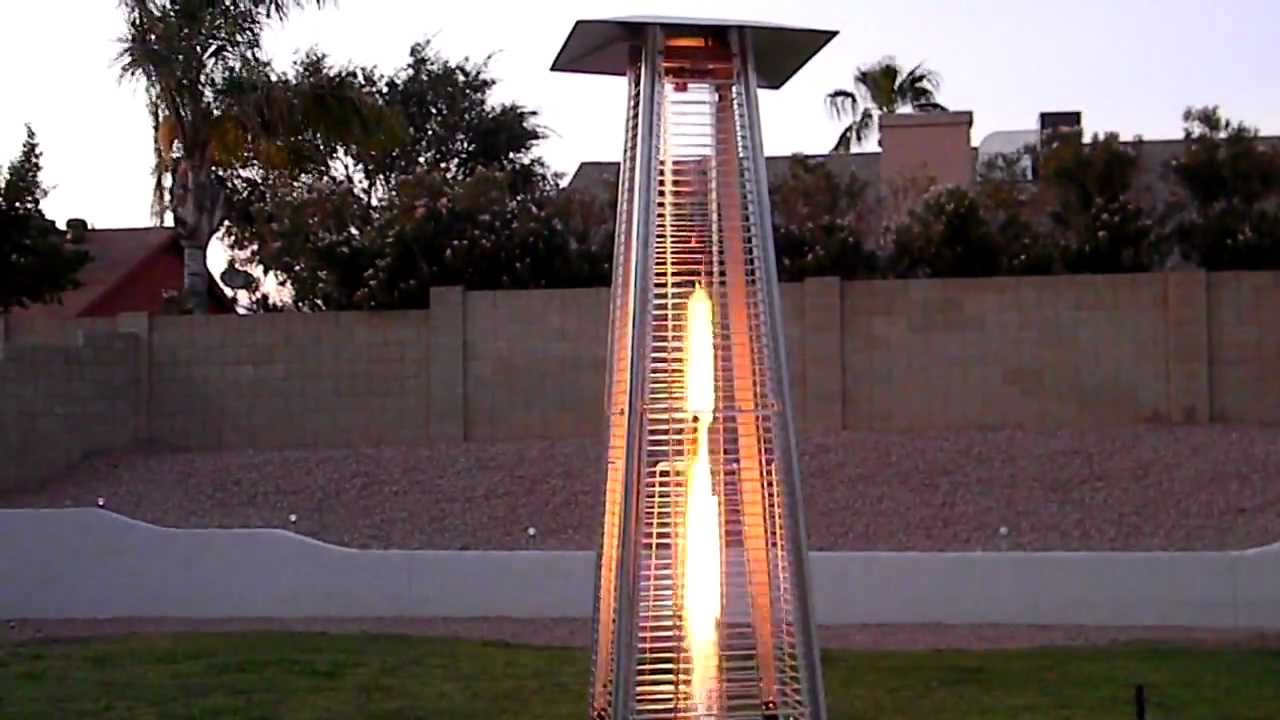 AZ Patio Heaters - Glass Tube Heater - YouTube