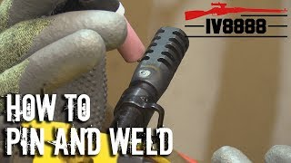 How to Pin & Weld