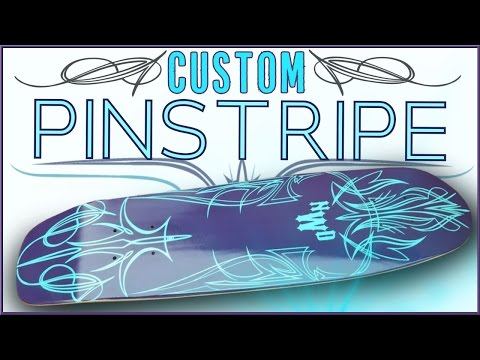 Neon Mint Pinstripe Cruiser Board!