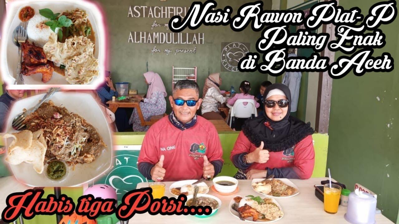 Nasi Rawon Warung Plat P Mbak Dinda Gampong Jawa Banda Aceh Paling Enak Youtube