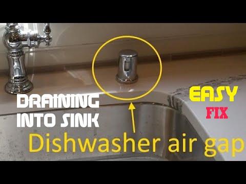 Dishwasher Draining Into Kitchen Sink Fixed