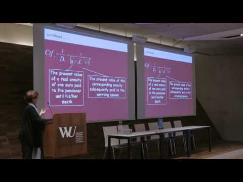 WIC2016: Graziella Caselli - Actuarial fairness and social inequality