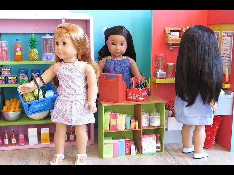 Baby Doll Supermarket Grocery Store For American Girl Dolls!