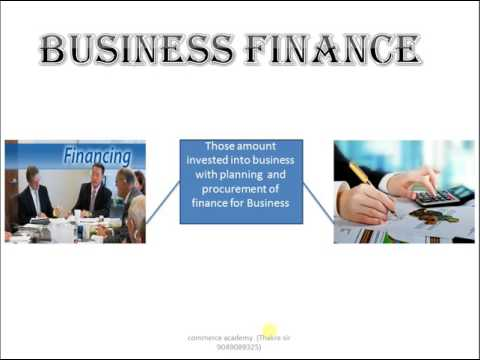 #1# what is business finance in hindi part 1