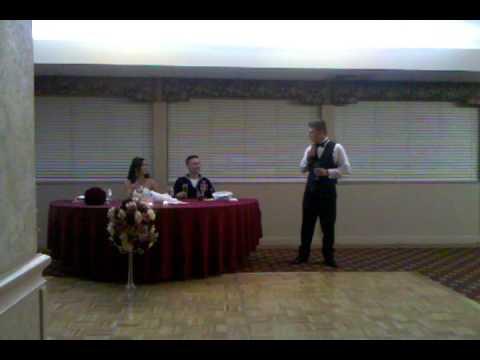 Eric Steinberg's best man speech to Jonathan