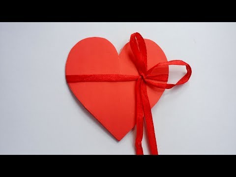 DIY: How to Make Heart Shape Card !!! Valentine Pop up Card !!!