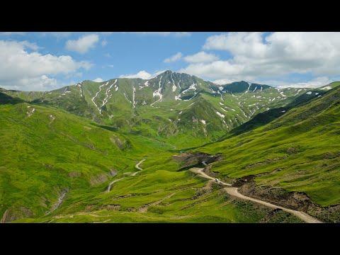 Solo Motorrad Reise Seidenstraße: Georgien: Über den Datvisjvari Pass nach Shatili. TanReise2019/6