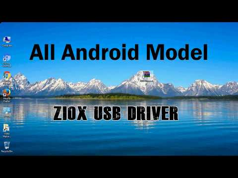 How to Install Ziox USB Driver for all Models | Best Android phone ADB