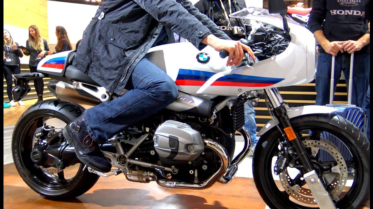 eicma bmw r nine t racer video 4k youtube. Black Bedroom Furniture Sets. Home Design Ideas