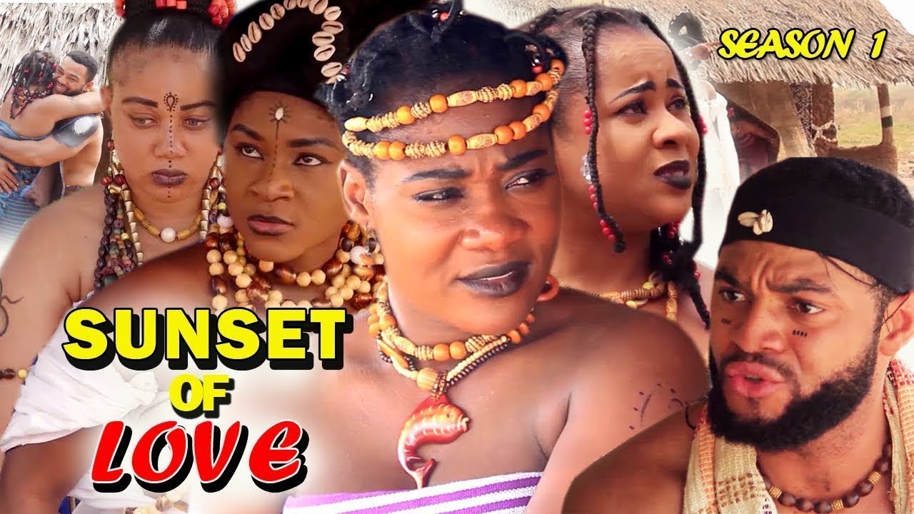 Download SUNSET OF LOVE - Rowlandsky Latest Nigerian Nollywood Movies.