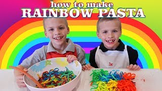 Kid Size Cooking: Rainbow Pasta