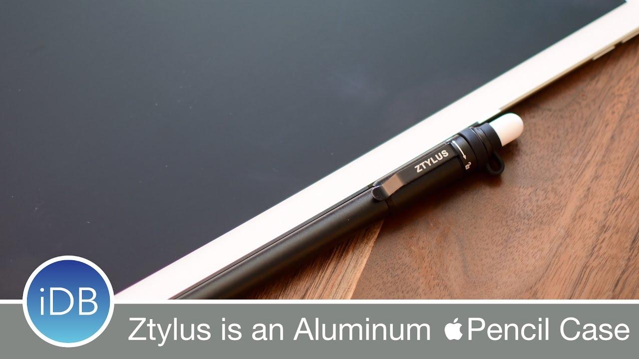 hot sale online a95d3 191e8 Ztylus Slim is an Aluminum Multi-Function Shell for Your Apple Pencil
