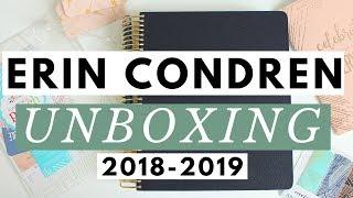 2019 ERIN CONDREN UNBOXING ●  LIFEPLANNER & ACCESSORIES HAUL ●  ERIN CONDREN COUPON