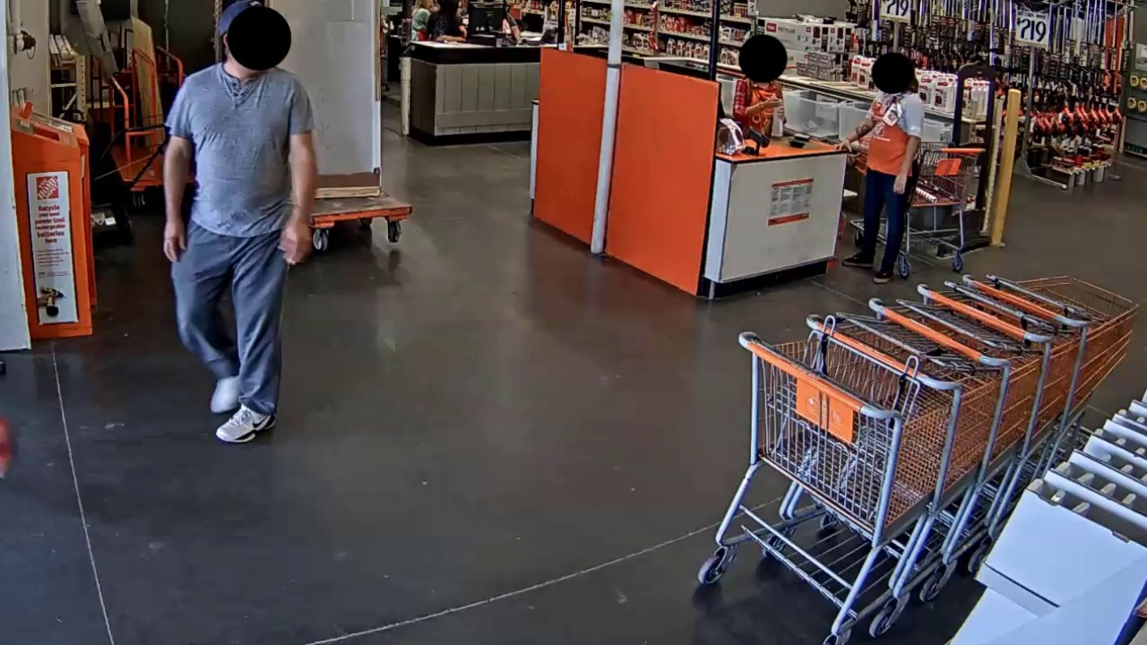 Home Depot Theft 1703050060 Youtube