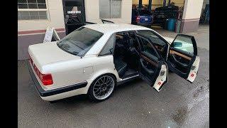 Audi v8 Наконец то прошел техосмотр в Калифорнии !