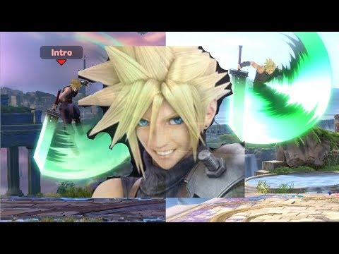 """As a Cloud Main,"" (Smash Ultimate)"