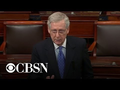 Simon Conway - CASE CLOSED says McConnell in blistering speech against 'Mueller politics'