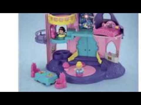 Fisher Price Little People Palace Disney Princess Dollhouse | X6031