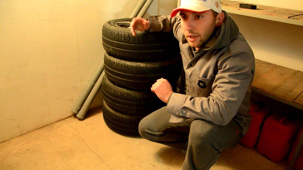 Правильное хранение автомобильных шин