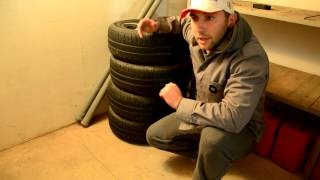 видео Правила хранения автомобильных шин
