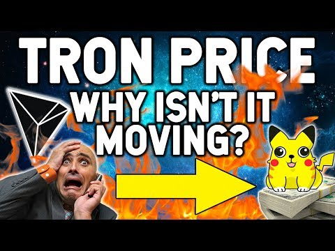 WILL THE TRON (TRX) PRICE EVER MOVE?
