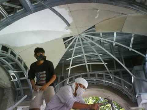 Vault Ceiling Construction Youtube