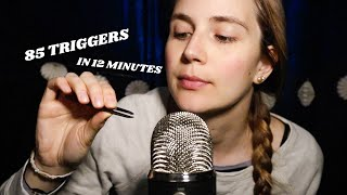 ASMR 85 Triggers in 12 Minutes