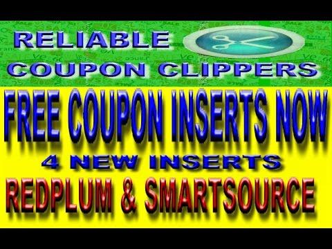 Get coupon inserts bulk free