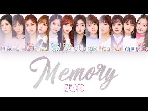 IZ*ONE (아이즈원) - Memory (비밀의 시간) [HAN ROM ENG Color Coded Lyrics]