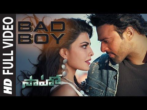 Saaho: Bad Boy Full Video Song | Prabhas, Jacqueline Fernandez | Badshah, Neeti Mohan