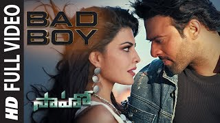 Saaho: Bad Boy Full Video Song | Prabhas, Jacqueline Fernandez | Badshah, Neeti Mohan