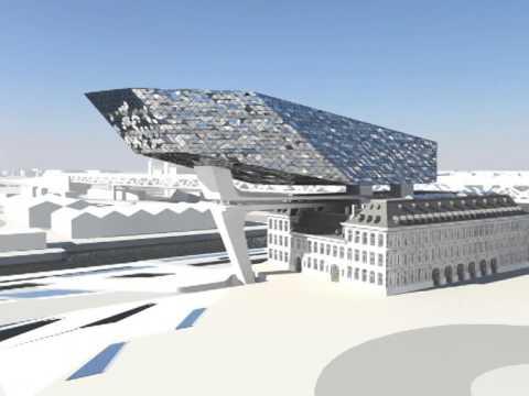 Antwerp Port House C Zaha Hadid Architects Youtube