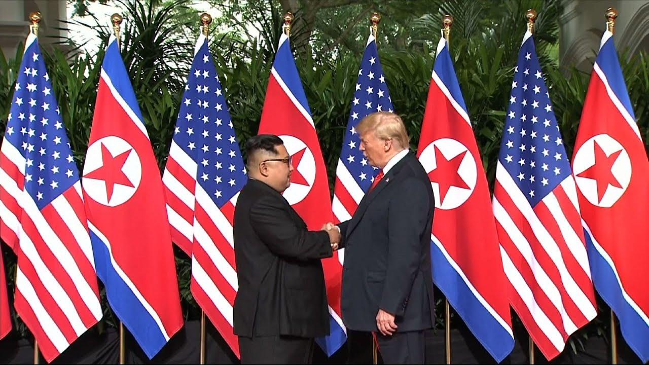 Встреча Трампа и Ким Чен Ына завершилась