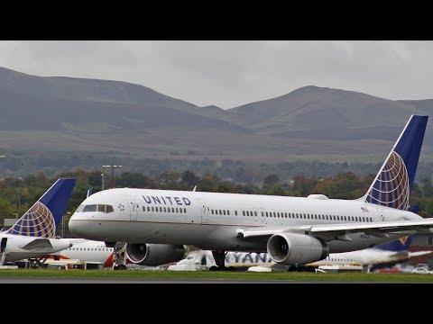 Day of the Inaugural Emirates flight | Edinburgh Airport 01/10/18