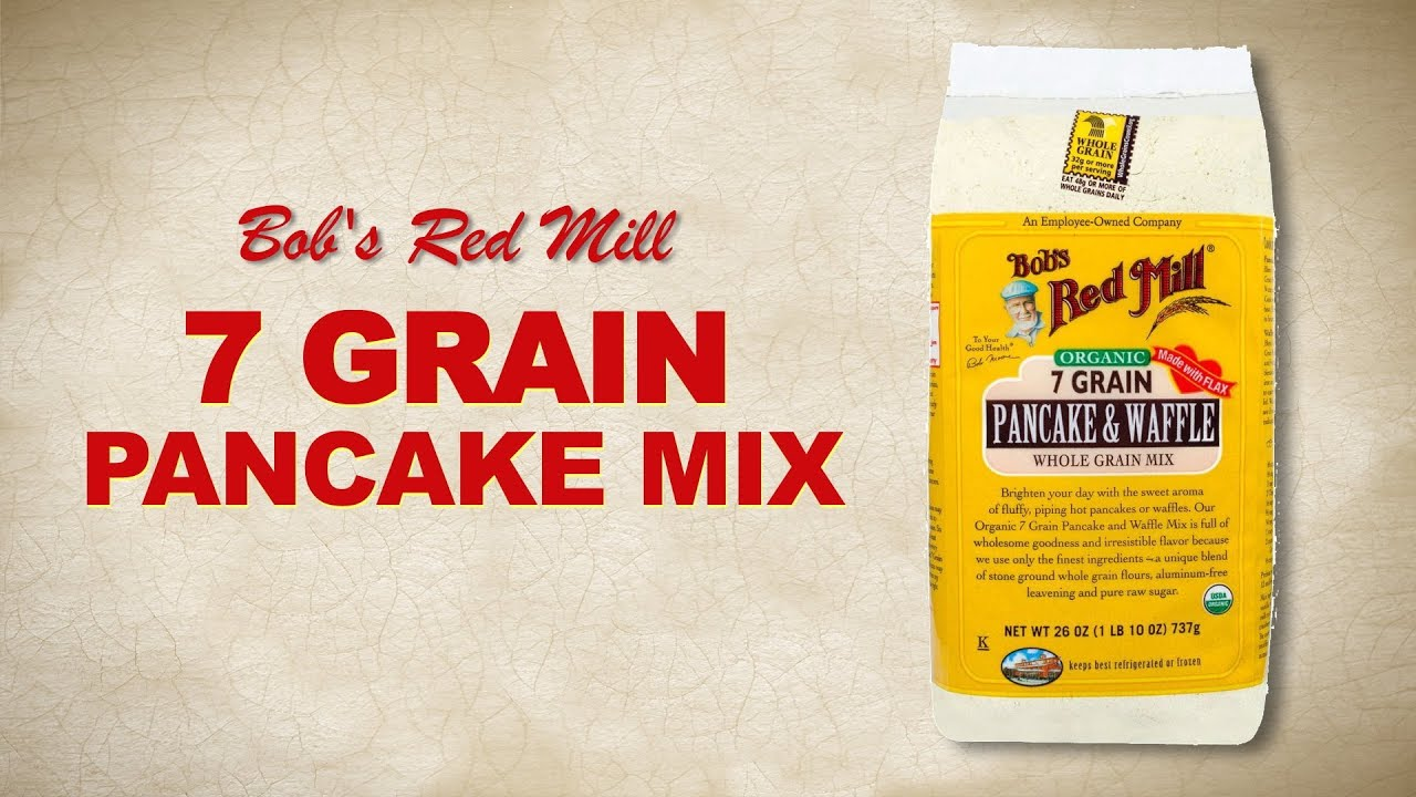7 grain pancake waffle mix bobs red mill youtube ccuart Gallery