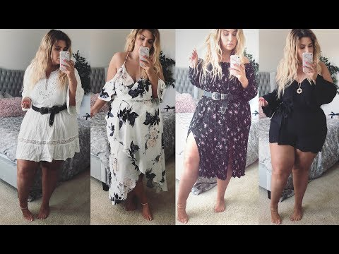 PLUS SIZE FASHION TRY ON HAUL | OMG THIS IS SO PRETTY! City Chic Is Love | Sometimes Glam